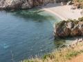 1 delle splendide spiagge della riserva dello zingaro