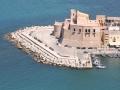 Marina e castello  di Castellammare del golfo